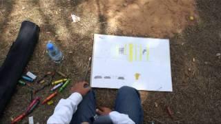 Libya. Libye. Ливия.Children draw the war. Дети рисуют войну.