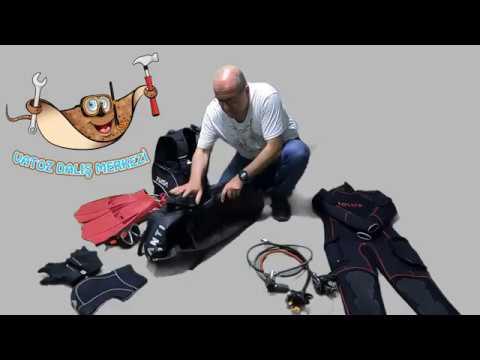 Bir dalış ekipman çantasını nasıl hazırlarız.....