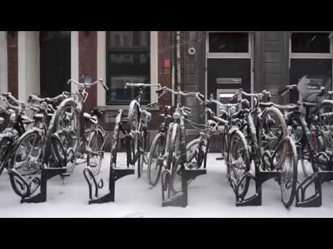 Snow In Maastricht, The Netherlands