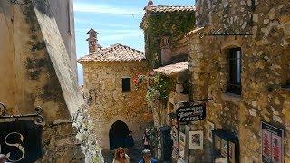 Лазурный берег Франции: провансальская деревня Эз. Eze Village