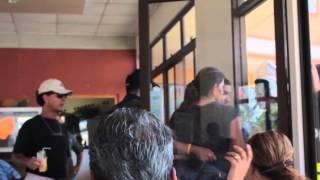 Manifestación TECOCOS en Chomes, Puntarenas - REPRESIÓN POLICIAL