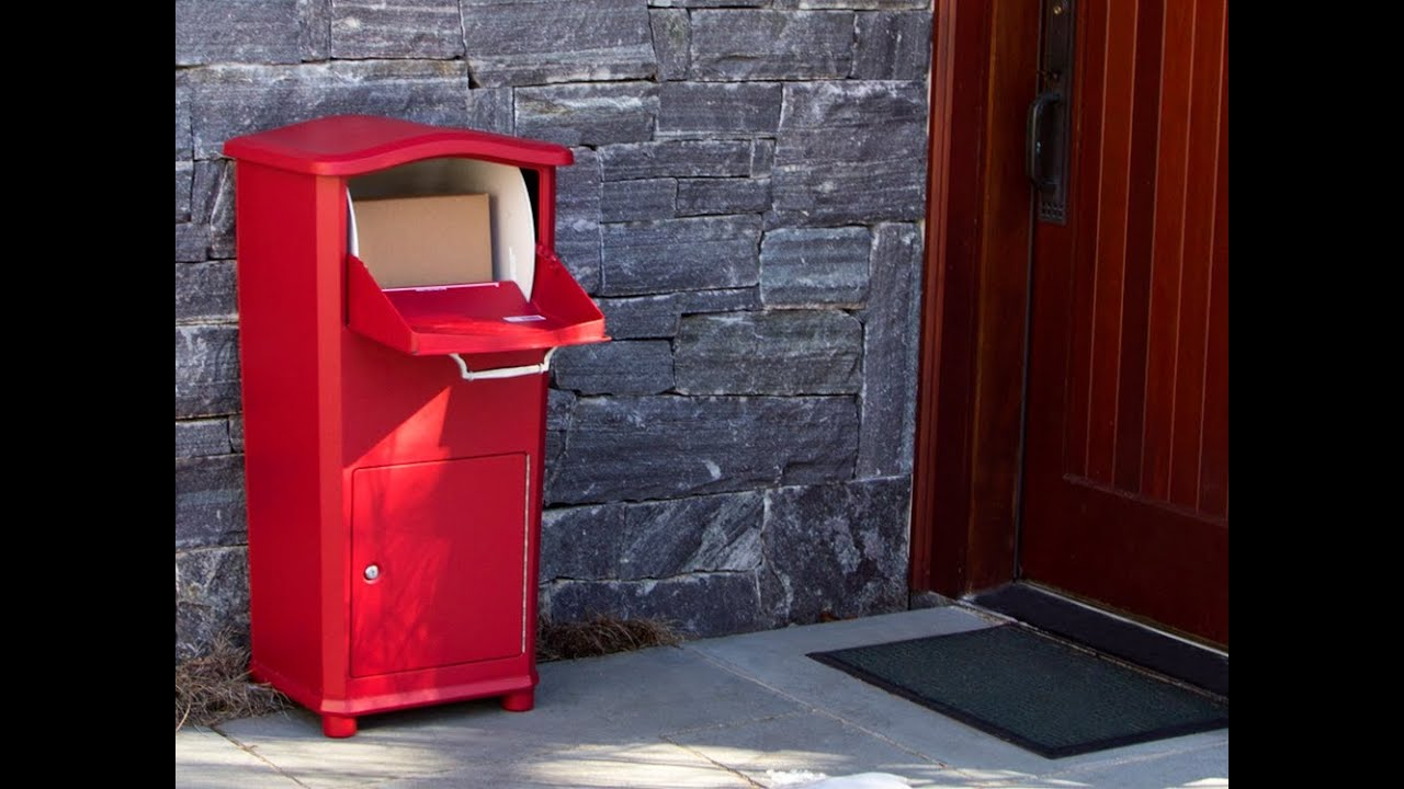 Elephantrunk Secure Parcel Drop Box Youtube