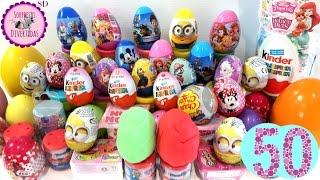 50 Huevos Sorpresa en Español Num Noms, Frozen, Shopkins, PinyPon, Kinder y mucho más... thumbnail