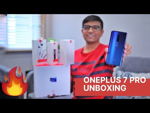 OnePlus 7 Pro Unboxing - What's New in the Special Box