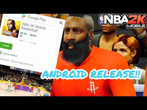 NBA 2K MOBILE ANDROID RELEASED!! How To Download NBA 2K MOBILE ANDROID!!