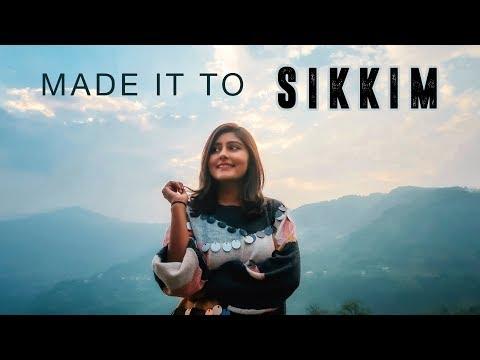 SIKKIM TRAVEL VLOG | Bagdogra to Gangtok - Vlog #1 | North East India | Kritika Goel
