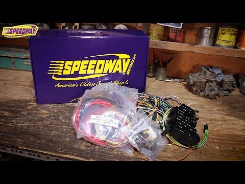 [DHAV_9290]  Speedway Tech Talk - Unboxing Wiring Harness Kits - YouTube | Rpc Wire Harness |  | YouTube