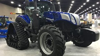 2016 National Farm Machinery Show New Holland Exhibit #1