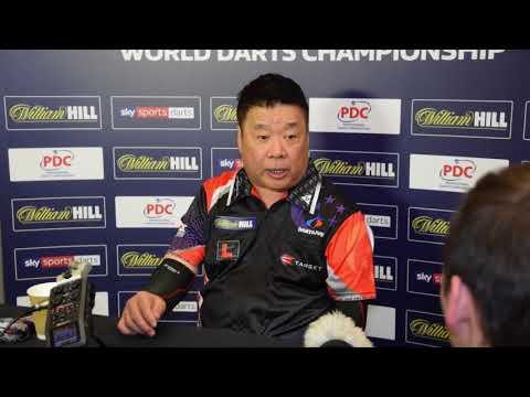 PDC Dart WM 2018 - Interview Paul Lim - Runde 1