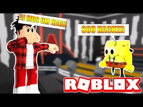 FINGINDO SER HACKER NO BBB - ROBLOX!!!