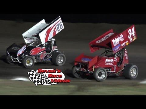 August 29, 2015 | CAT Sprint Car A-Main | I-76 Speedway