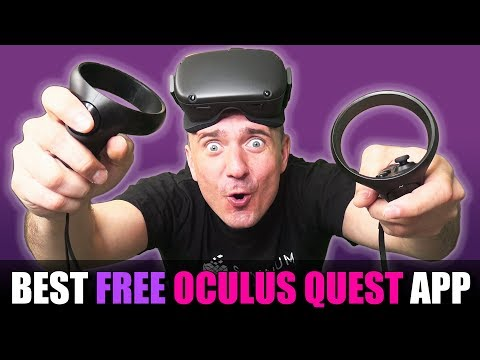 This FREE Oculus Quest App Lets You Play SteamVR And Rift Games Wireless!