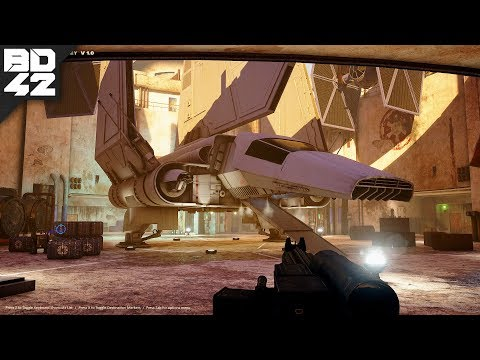 Someone is recreating Star Wars: Dark Forces... in Unreal Engine 4 (Free Download)