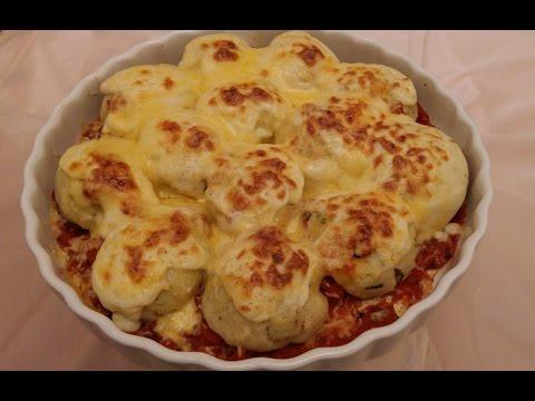 كرتان-كريات-البطاطا-المحشوة-|-boulettes-de-pommes-de-terre-gratinées