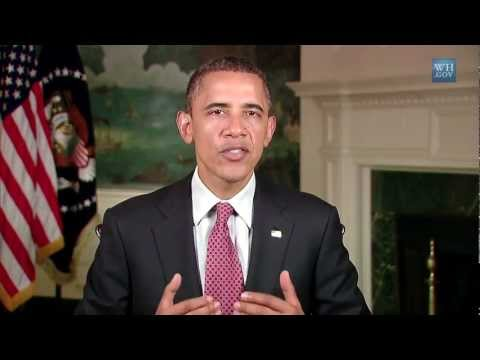 OFFICIAL WHITE HOUSE VIDEO Passing the American Jobs Act (Weekly Address in HD)