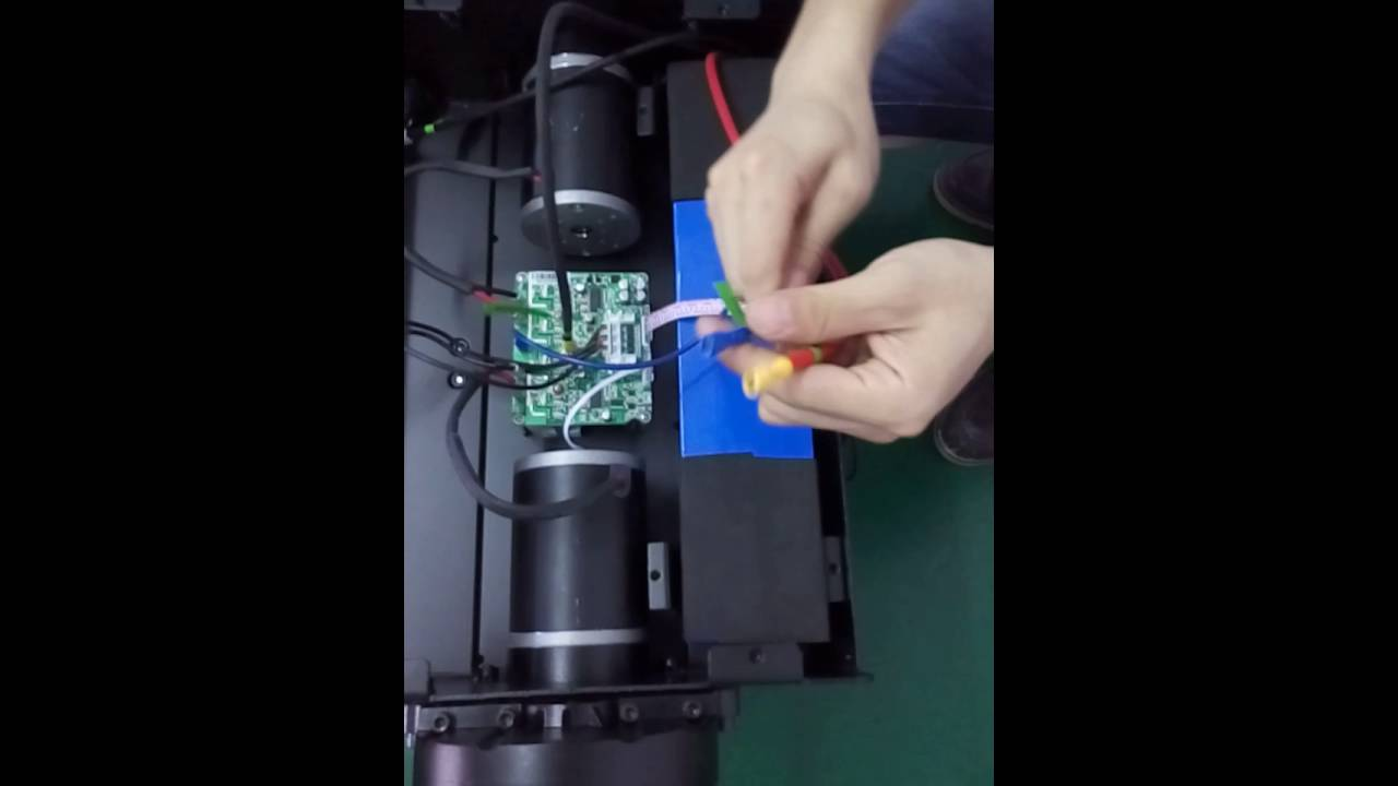 How to install lithium battery for Segway?