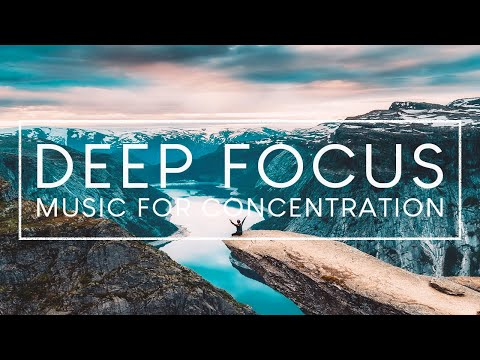 4 Hours of Ambient Study Music to Concentrate - Deep Focus Music for Studying