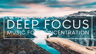 4 Hours of Ambient Study Music to Concentrate  Deep Focus Music for Studying