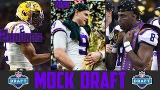 2020 NFL Mock Draft | 2 Round NFL Mock Draft 2020 | Post National Championship Mock Draft
