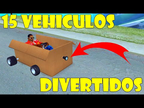 15 VEHICULOS DIVERTIDOS PARA EL GTA SA