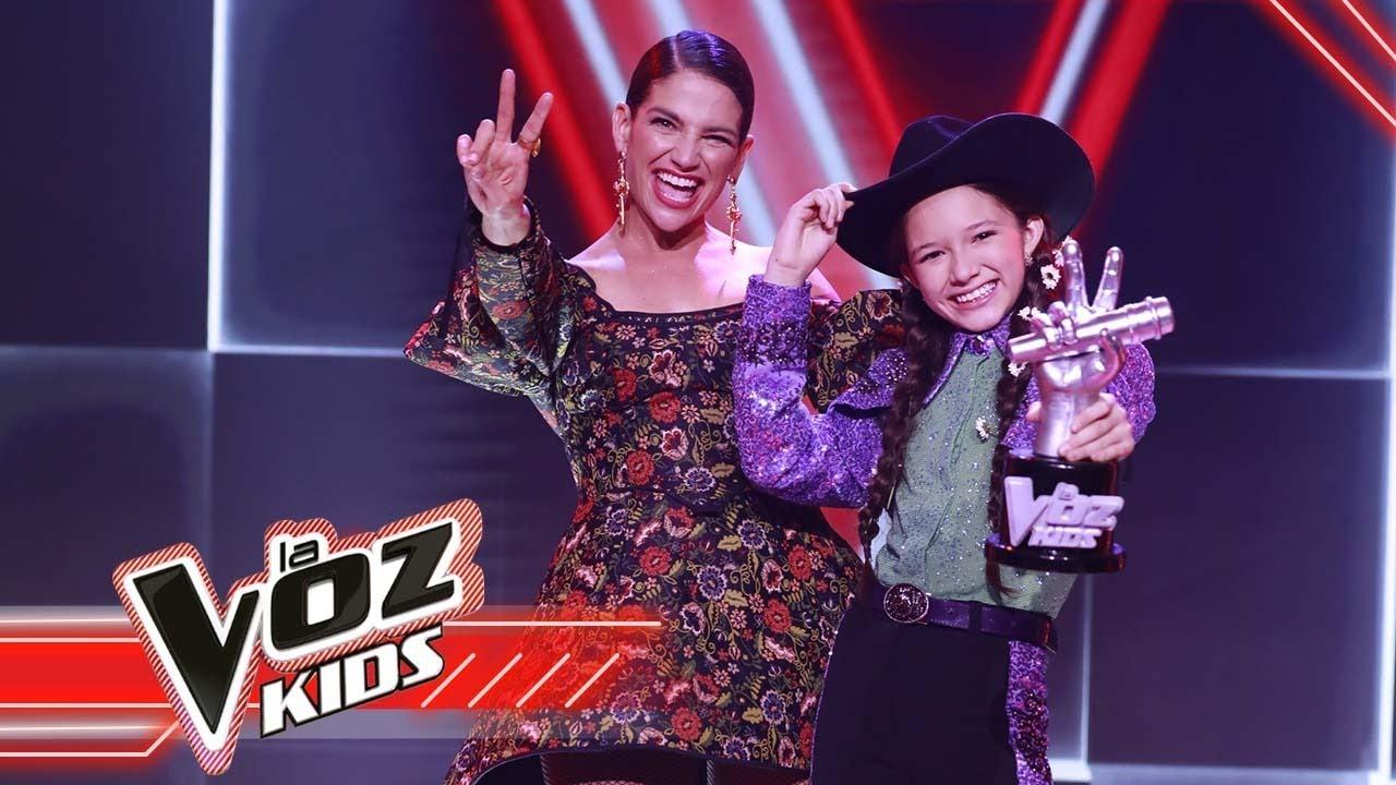 ¡Emocionante! Declaraciones inéditas de María Liz, ganadora de La Voz Kids 2021