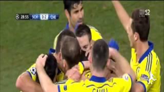 schalke vs chelsea 0 5 all goals and highlights hd cl 2014