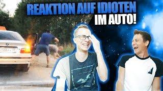 Reaktion auf Idioten im Auto... 🚗 | TwoEpicBuddies