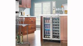Danby Dual Zone 5.0 Cu. Ft. Built In Beverage Center- DBC2760BLS Thumbnail
