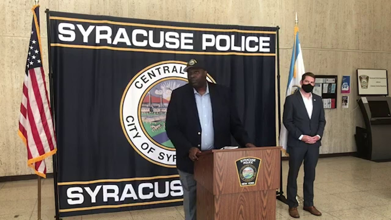 Download Syracuse chief on police shooting: Non-fatal wound, man had gun