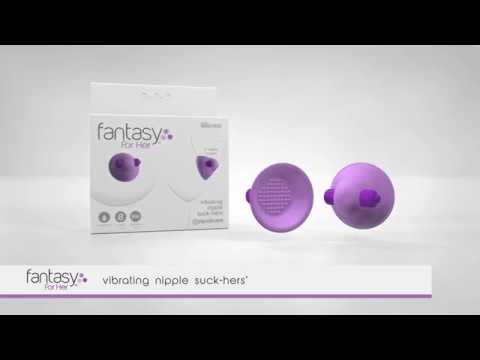 Fantasy For Her Vibrating Nipple Suck-Hers by Pipedream thumbnail