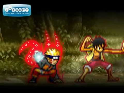 Luffy vs naruto in your browser for free. Naruto Vs Luffy Sprite Fight Youtube