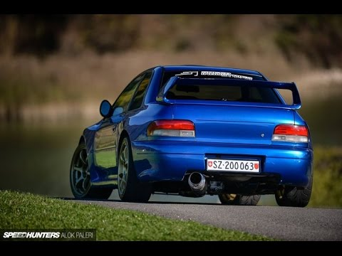 brutal subaru impreza gc8 exhaust sounds type r type ra. Black Bedroom Furniture Sets. Home Design Ideas