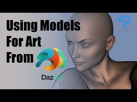 Using Models from Daz Studio for your art