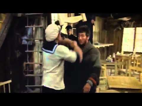 "Alan Autry in scene with Robin Williams in ""Popeye"" - YouTube"