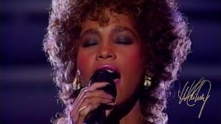 Whitney Houston - Greatest Love Of All (The 29th Annual Grammy Awards, 1987) [60fps]