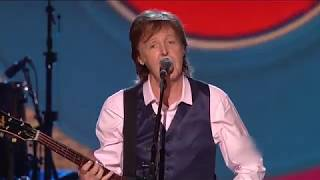 Paul McCartney  -  Birthday/Get Back/I Saw Her Standing There (Tribute to The Beatles, 2014)
