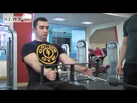 Fitness on NEWS.am Sport. 7 Тяга горизонтального блока - Cable Seated Row
