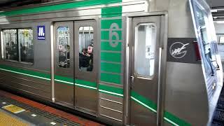 大阪メトロ中央線24系24604Fコスモスクエア行き 生駒駅発車