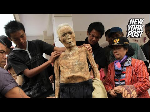 There are real zombies in this small town in Indonesia | New York Post