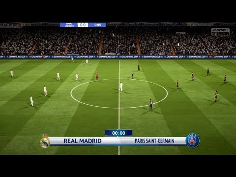 REAL MADRID VS PSG | Champions League 2018 | FIFA 18 Predicts - Pirelli7