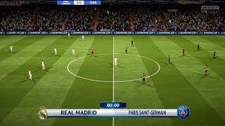 REAL MADRID VS PSG | Champions League 2018 | FIFA 18 Predicts - Pirelli7