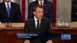 French President Emmanuel Macron on Climate Change (C-SPAN)