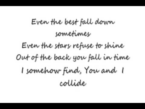 Collide Howie Day Lyrics Video 0001 Youtube