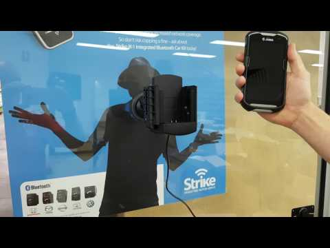 Zebra TC56 & TC51 Touch Computer Car Mount from Strike - YouTube