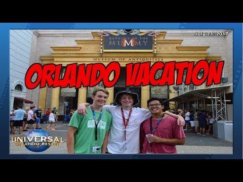 Universal Orlando Resort Vacation 2017