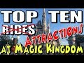 Top Ten Rides at Disney World - Magic Kingdom