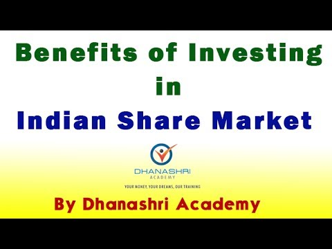 Benefits of Investing in Indian Share Market