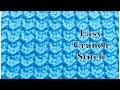 Fast and easy Crunch crochet stitch for baby blankets, baby hats and more #156