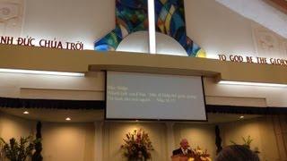 Hãy đi khắp thế gian mà rao giảng Tin-Lành cho mọi người