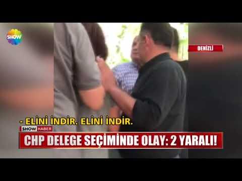 CHP delege seçiminde olay: 2 yaralı!